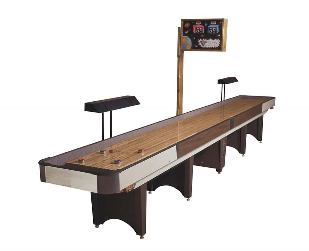 Clic Coin Shuffleboard Table