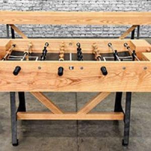 Astoria Foosball Table · Williamsburg Cushion Shuffleboard Table